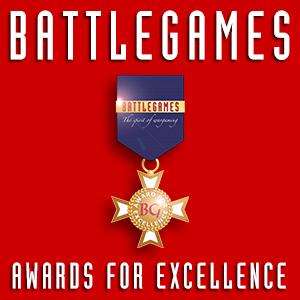 Battlegames Awards for Excellence logo