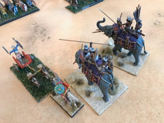 Generals duel