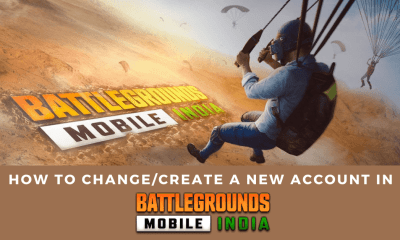 How to Change/Create a New Account in Battlegrounds Mobile India