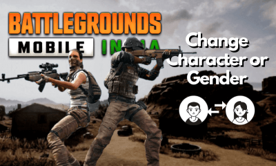 How to Change Character or Gender in BGMI