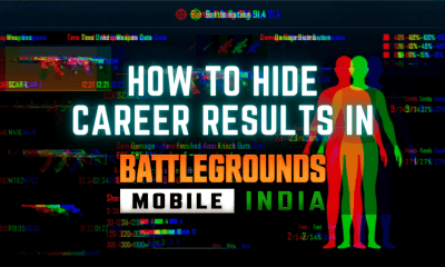 How to Hide Career Results in BGMI