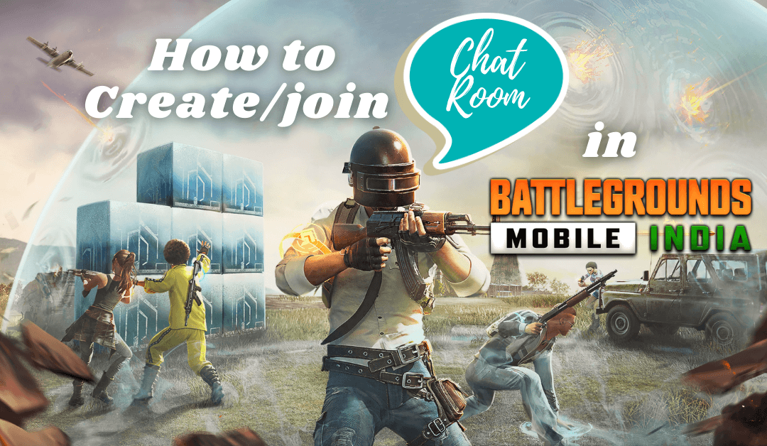 Pubg room mobile chat in enter How to
