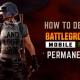 How to Delete BGMI Account