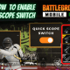 How to Enable Quick Scope Switch in BGMI
