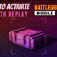 How to Activate Death Replay/Death Cam in BGMI