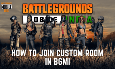 How to Join custom room in BGMI