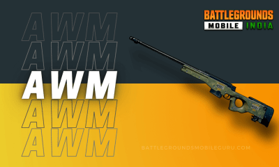 BGMI AWM Weapon