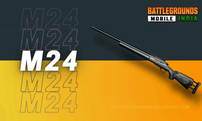 BGMI M24 Weapon