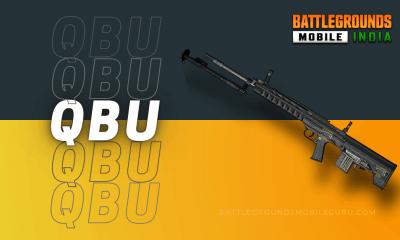 BGMI Weapons QBU