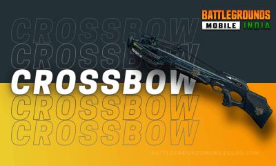 BGMI Crossbow Weapon
