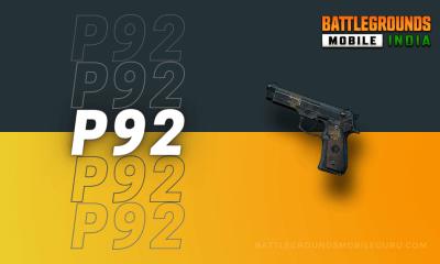 BGMI P92 Weapon