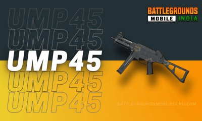 BGMI UMP45 Weapon