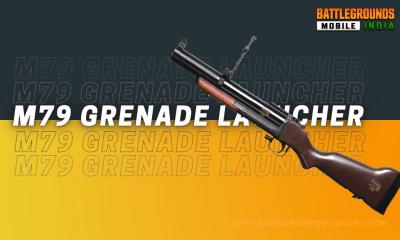 BGMI M79 Grenade Launcher