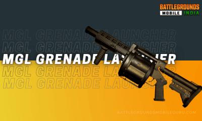 BGMI MGL Grenade Launcher