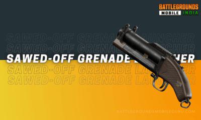 BGMI Sawed-Off Grenade Launcher