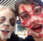 Face Maskin' It in Harajuku, Tokyo
