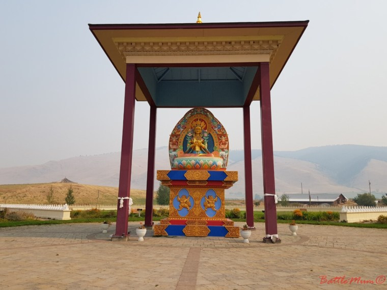 5 things to do in missoula with a toddler in tow - visit the garden of one thousand buddhas