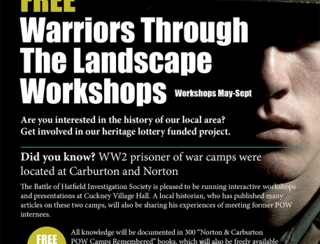 """As Part of Our HLF funded, """"Warriors Through The Landscape"""" Project …"""