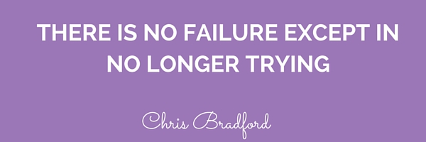 I can accept failure, everyone fails at something. But I can't accept not trying. is a habit(4)