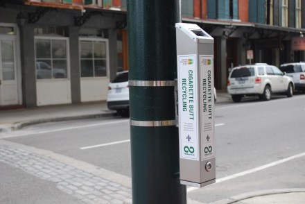 One-of-a-Kind Cigarette Butt Recycling Program Begins in New Orleans