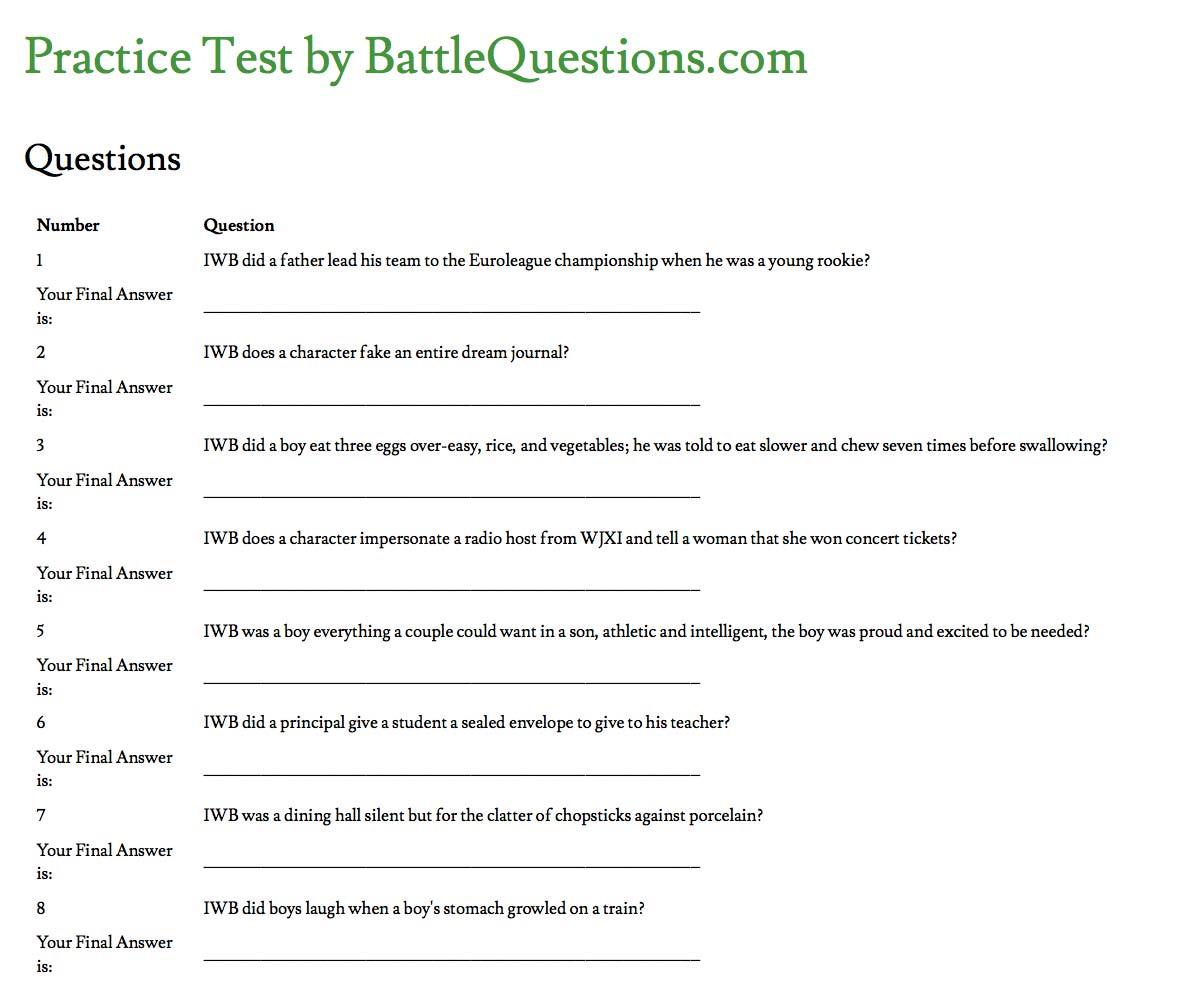 Battlequestions