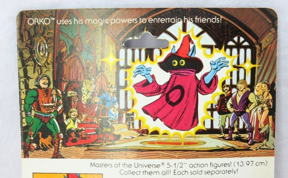 The scene here doesn't bear much resemblance to the palace in the Filmation cartoon. Typically artists working for Mattel tended not to take their cues from the cartoon, with some exceptions. Artwork by Errol McCarthy.