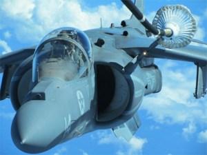 An AV-8B Harrier jet