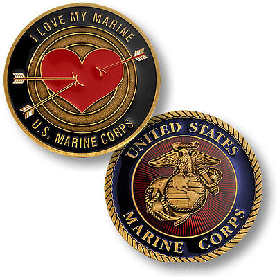 For sale: challenge coins for Marine wives