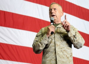 Retired Gen. James Mattis will be presented an award for public service by the  Foreign Policy Research Institute in Philadelphia on Monday night.  (U.S. Navy photo by Mass Communication Specialist 3rd Class Billy Ho/Released)