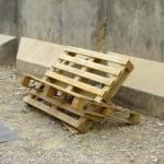 A makeshift recliner.