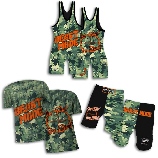 The Beast Mode Wrestling Package – Part of the release the beast series by Battle Tek Athletics