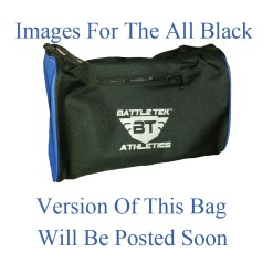 The Small All Black Battle Tek Athletics Duffel Bag Offers An Alternative To Larger Gym or Duffel Bags For Personal and Athletic Gear Transport