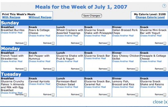 Mail Order Meal Plans