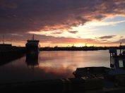 Sunset, Midnight, Reykjavik, Iceland