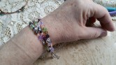 3-Strand Crystal Bracelet