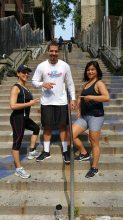 Fit Friends on W 187 steps