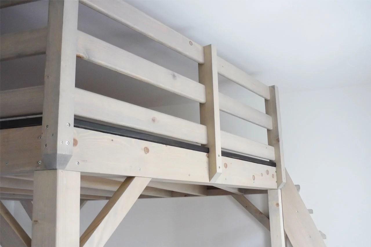 Am nagement int rieur mezzanine cloison escalier - Garde corp mezzanine ...