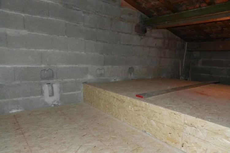 aménagement combles création de plancher entreprise 91