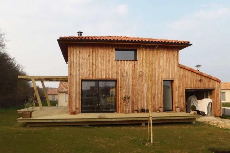 Construction en bois et bardage