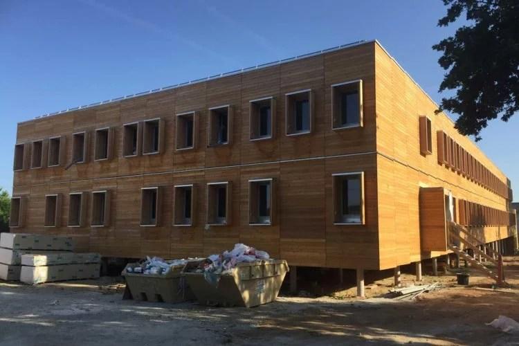 Construction en bois et bow window artisan 78