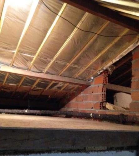 aménagement combles et isolation toiture entreprise 91