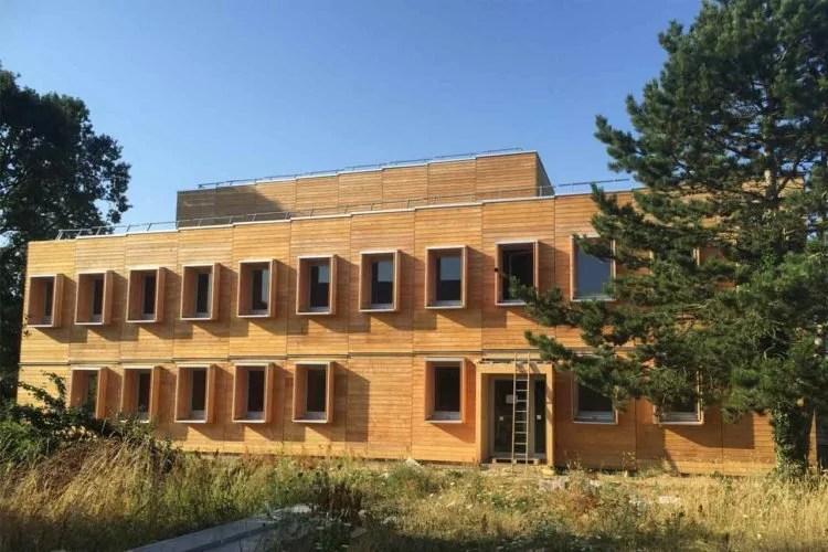 Internat de Procheville 78 Construction en bois