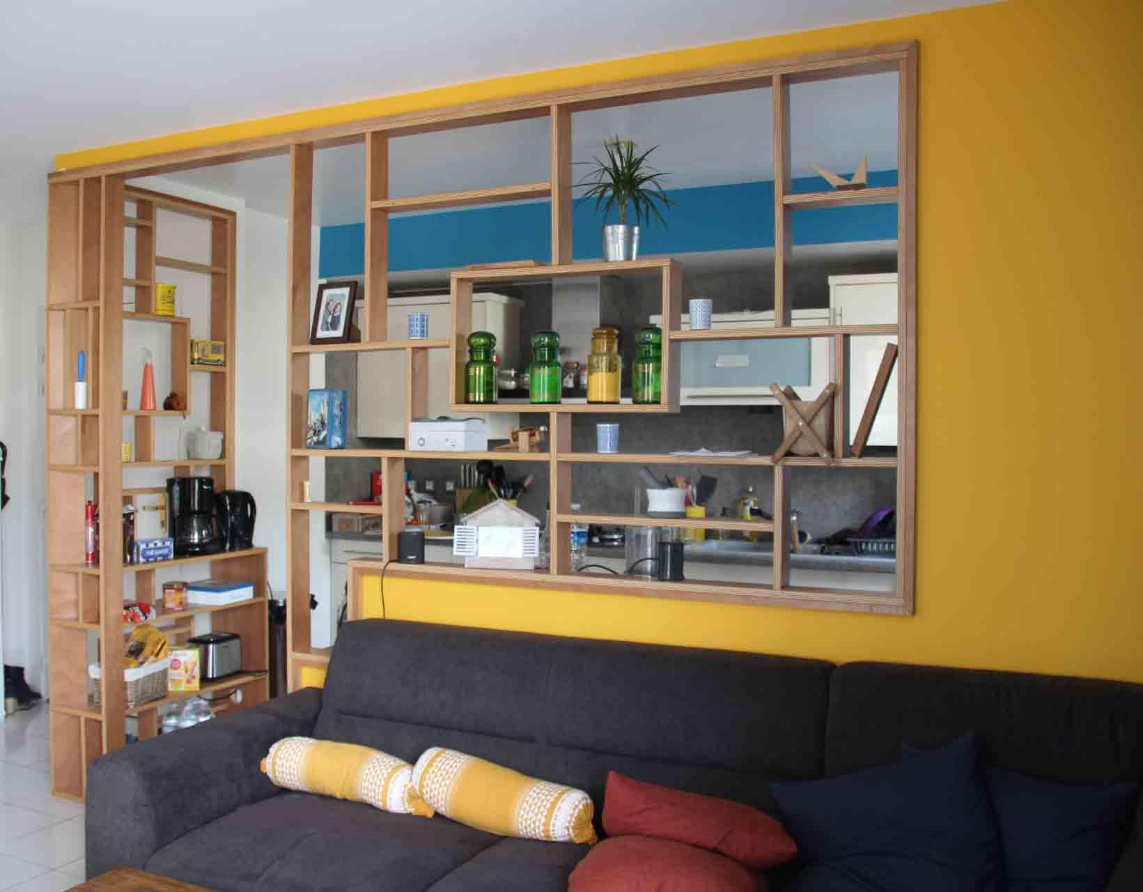 Claustra Intérieur En Bois baty'r | nos réalisations de charpente et construction bois