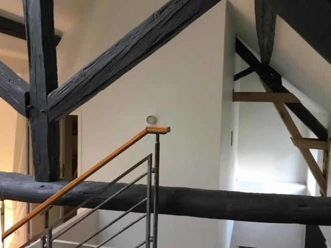 Modification et reprise de charpente bois artisan 91