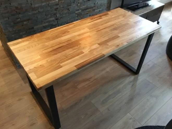 fabrication table et meuble en bois sur mesure