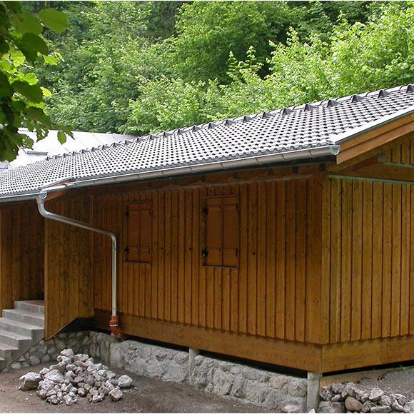 Zimmerei Josef Winner Münster: Holzhütte