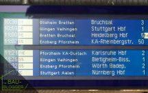 Bauortsuche: Mühlacker - Zuganzeige
