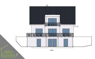 Architektur und Licht - Zeichnung Süd 1