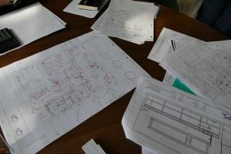 Bemusterung - Sichtung der Pläne