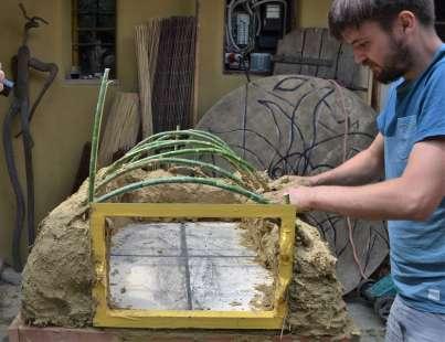 Cob oven Lehmpizzaofen